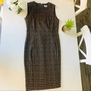 Calvin Klein Size 8 Body Contouring Dress